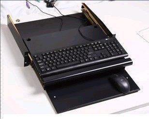 亚搏体育苹果app地址机柜 机柜配件 双层键盘板 滑动板 带鼠标板键盘板 SA.4200